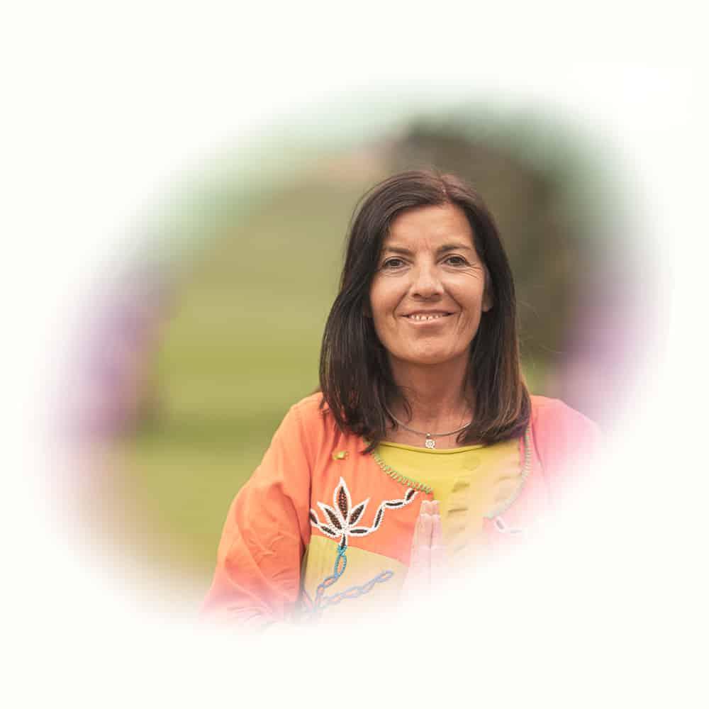 Portrait von Karin, eine Mitarbeiterin von Ayavision