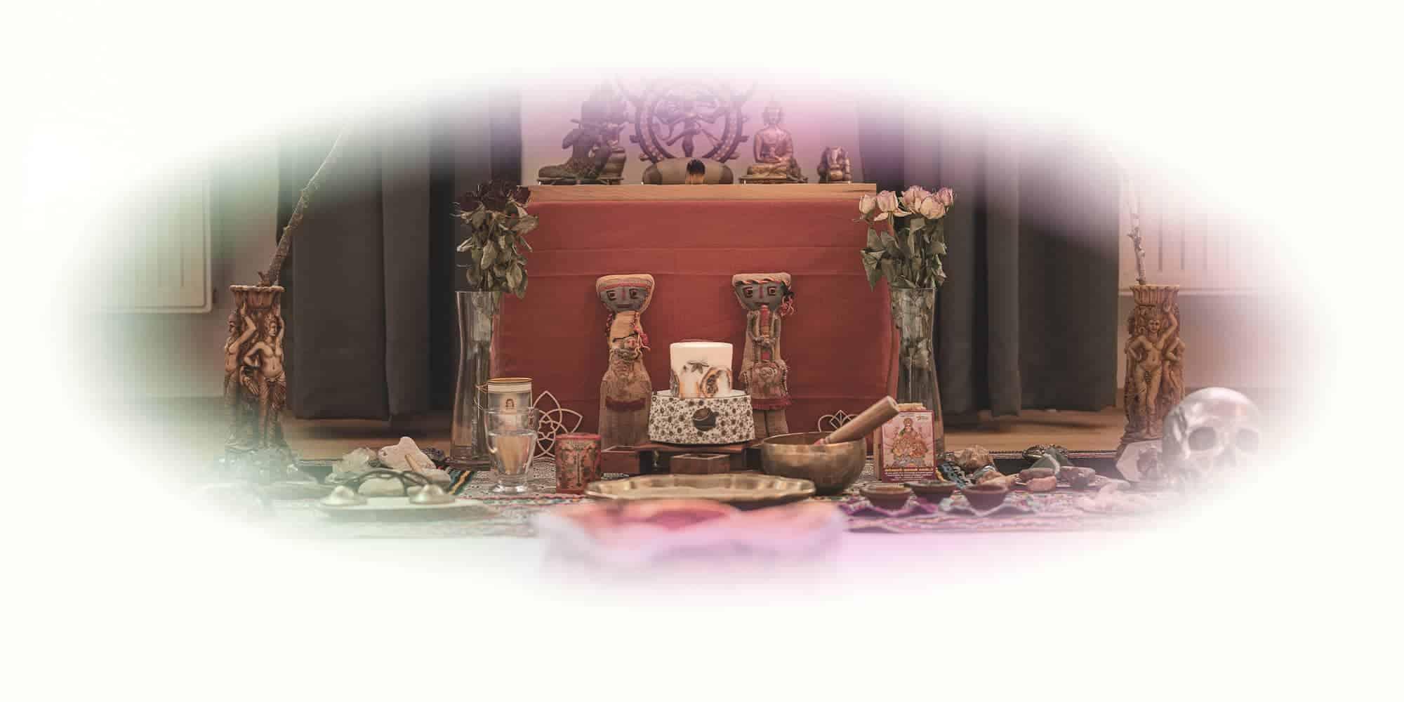 """Titelbild Zeremonien-Altar von Ayahuasca Retreat """"2 Tages Gruppenretreat"""""""
