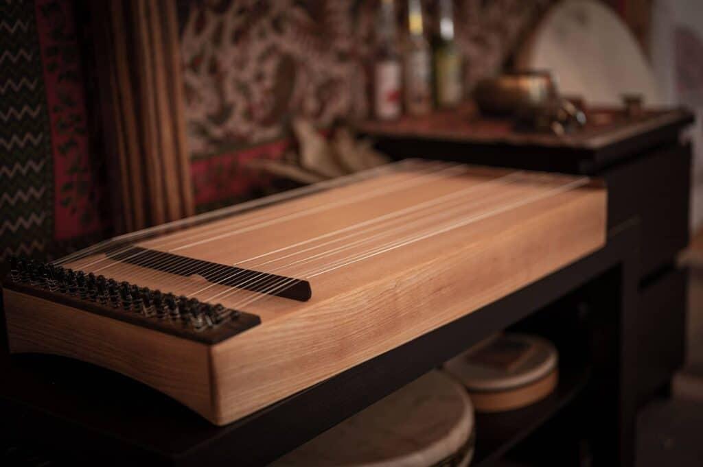 Musikinstrumen Allton für Ayahuasca Retreat Zeremonie